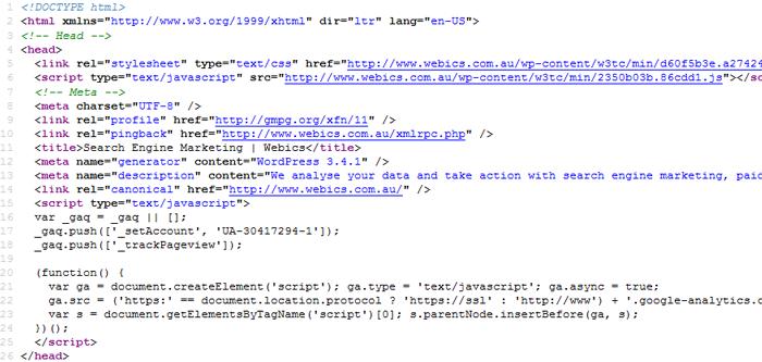 Clean WordPress HTML