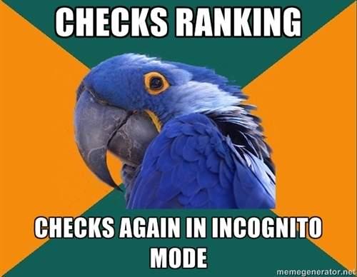 Incognito SEO Meme