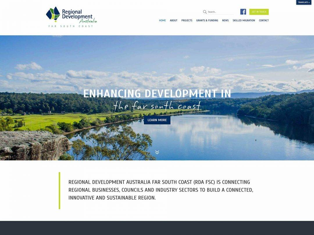 Regional Development of Australia Far South Coast